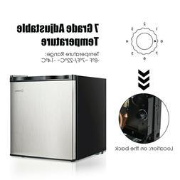 1.1 cu.ft. Compact Single Door Mini Upright Freezer
