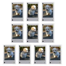 1-10 Pack Refrigerator Magnetic Photo Frames For instax mini