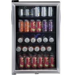 150 Can Locking Beverage Center Cooler Mini Fridge Refrigera