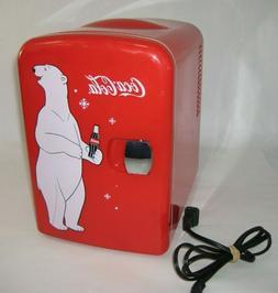 2014 Portable Mini Refrigerator Heater Coca-Cola Koolatron 6
