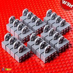 24 X NEW LEGO Magnet Gray 2 x 4 Brick Mini-Figure Stand Disp