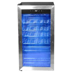 Smad 28 Bottle Touchscreen Wine Refrigerator Under-Counter W