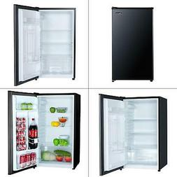 3.2 cu. ft. mini fridge in black | magic chef refrigerator c
