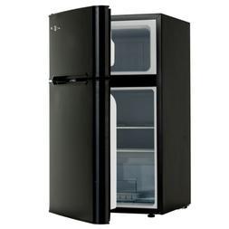 3.2 Cuft Mini Fridge 2 Doors Compact Refrigerator Top Freeze