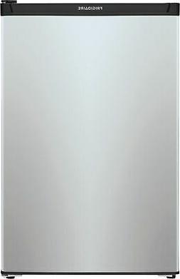 Frigidaire 4.5 cu. ft. Mini Fridge with Full Freezer in Silv