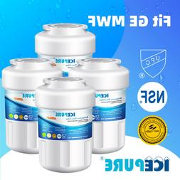 4 PACK ICEPURE GE MWF SmartWater MWFP GWF Compatible Refrige