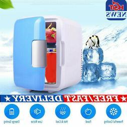 4L Mini Dorm Small Fridge with Freezer Refrigerator Cooler W