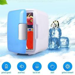 4L Mini Dorm Small Fridge with Freezer Refrigerator Cooler O