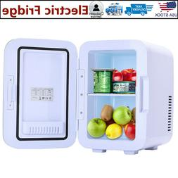 6 L Electric Mini Fridge Cooler Warmer Refrigerator Portable