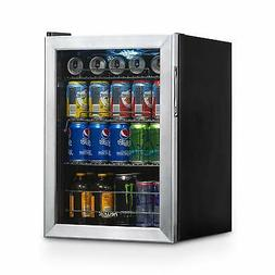 NewAir AB-850 Beverage Cooler and Refrigerator, Small Mini F