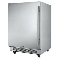 "Avallon AFR241SSODRH 5.5 Cu Ft 24"" Outdoor Built-in Refriger"