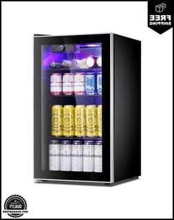 Antarctic Star Beverage Refrigerator Cooler 100 Can Mini Fri