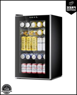 Antarctic Star Beverage Refrigerator Cooler-85 Can Mini Frid