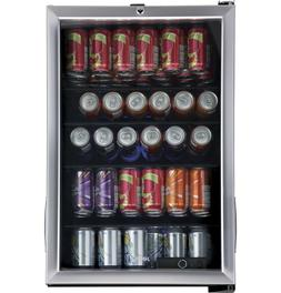 Haier 150 Can Locking Beverage Center Cooler Mini Fridge Ref