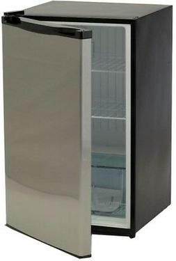Bullet 4.5 cu ft Mini Compact Refrigerator Stainless Steel P