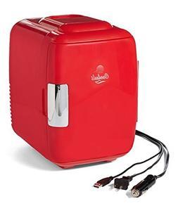 Cooluli Classic 4-liter Compact Cooler/Warmer Mini Fridge fo