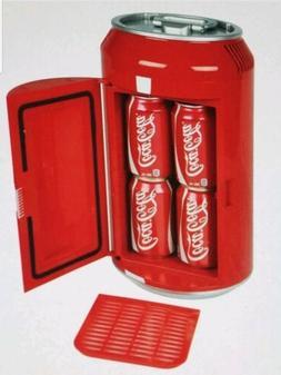 Coca Cola Mini Can Fridge Refrigerator Coke Collectable Cool