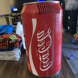 """Koolatron Coca Cola Mini Fridge Coke Soda 15"""" Has Home Pow"""