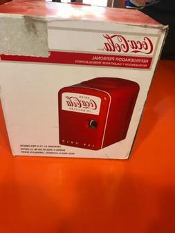 Coca Cola Mini Personal Fridge Thermoelectric Cooler Warmer
