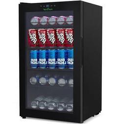 Compact Fridge Cooler - Can Beverage Chiller Refrigerator 13