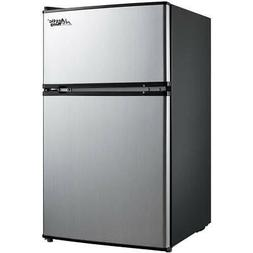 New Compact 3.2 Cu Ft Fridge Mini Dorm Office Refrigerator S