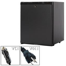 Compact Fridge RV SEMI Truck Refrigerator 110V AC 12V DC Sil