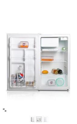 Compact Refrigerator,4.4 cu. ft..,Wht MIDEA WHS-160RW1