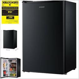 Compact Single-Door Refrigerator 3.5 cu ft Black Galanz Mini