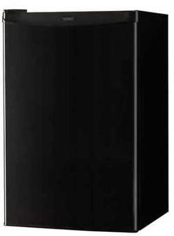 DANBY DCR044A2BDD 4.4cf Refrigerator with Chill Space, Black