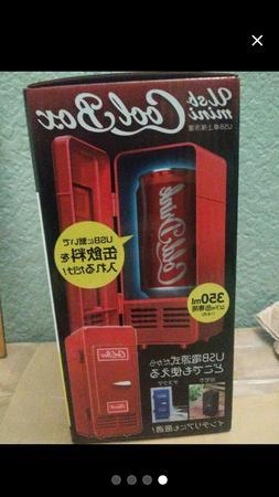 desktop mini fridge usb gadget beverage cans