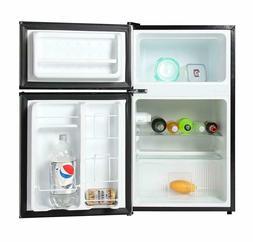 Dorm Room Freezer Refrigerator Mini Compact Storage Reversib