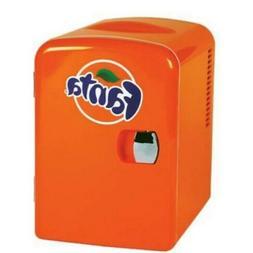 Fanta Mini Cooler/Mini Fridge In Orange Without Freezer 0.14