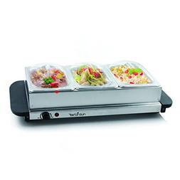 Food Warming Tray / Buffet Server / Hot Plate Warmer