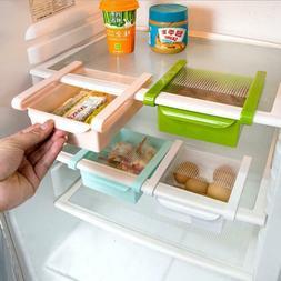 Freezer Storage Rack Mini ABS Slide Fridge New Space Saver O