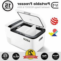 21.1 Quart ICECO GO20 Dual Zone Portable Freezer, Car Refrig