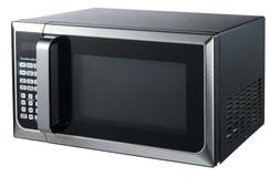 Hamilton Beach 0.9 Cu. Ft. Stainless Steel Microwave Oven bl
