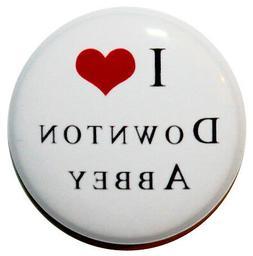 """I Love Downton Abbey"" Mini Fridge Magnet - MADE IN UK - TV"