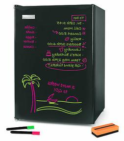 Igloo IRF26EBBK Dry Erase Board Single Door Refrigerator 2.6