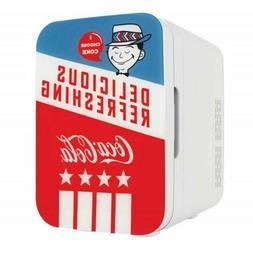 Cooluli K10LGA 10 L Coca-Cola Americana Compact Portable Dor