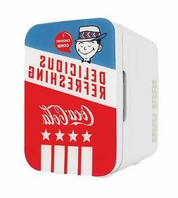 Cooluli K10LGA Mini Fridge Coca-Cola Americana Retro -Portab