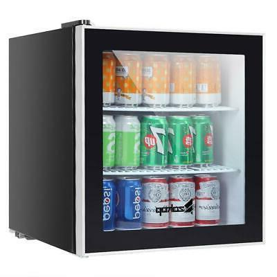 1.6 Standing Beverage Center Fridge Steel Door