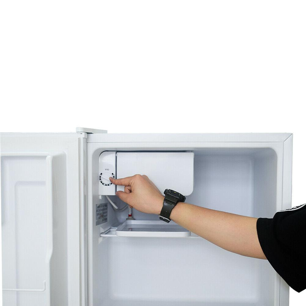 Smad 1.7 Feet Mini Fridge Dorm Refrigerator