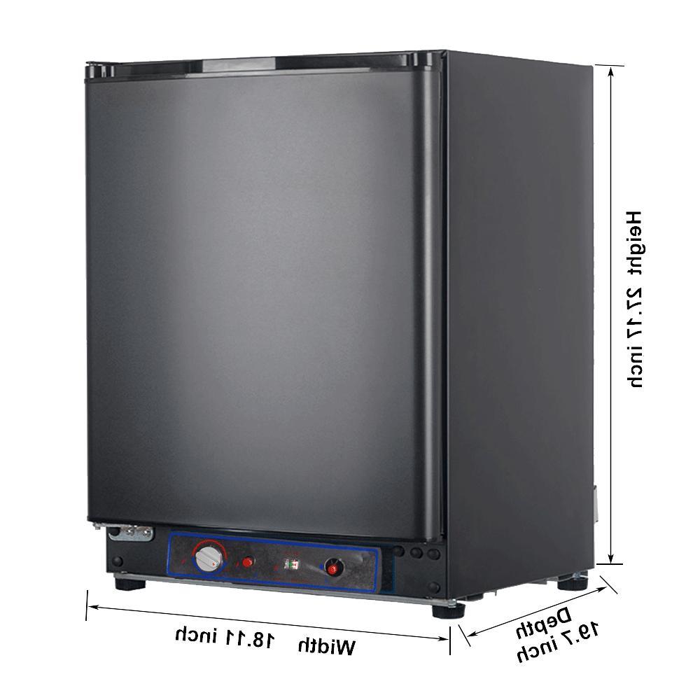 Smad 3 Way 2.1 cu ft Camper Fridge Gas RV Refrigerator Carav