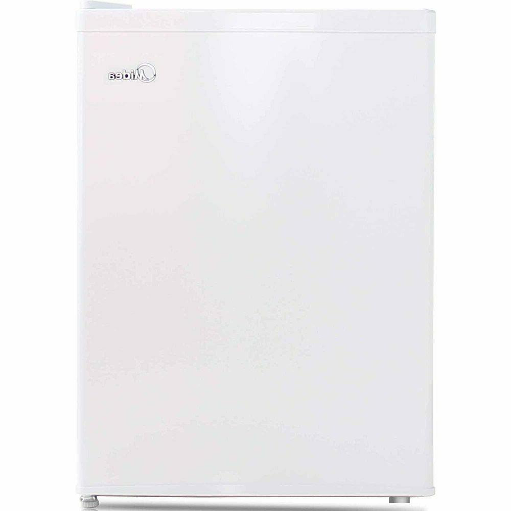 Midea 2.4 Cu Ft Compact Refrigerator with Freezer WHS-87LW1,