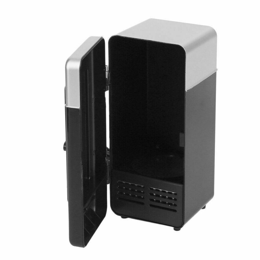 2 1 Mini Fridge Gadget Beverage Cans Refrigerator