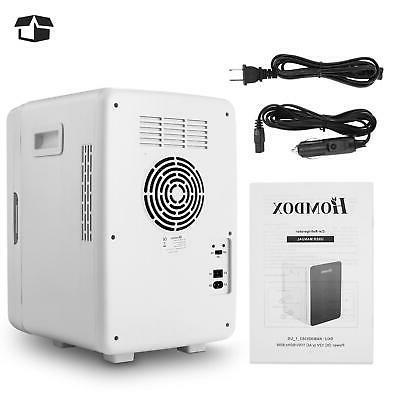 HOMDOX 20L Compact Refrigerator Energy Star Single Mini