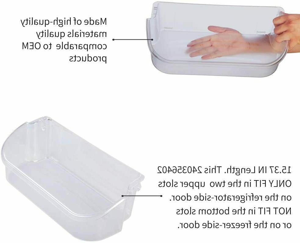 240356402 Refrigerator Door Bin Side Shelf Frigidaire and Electrolux