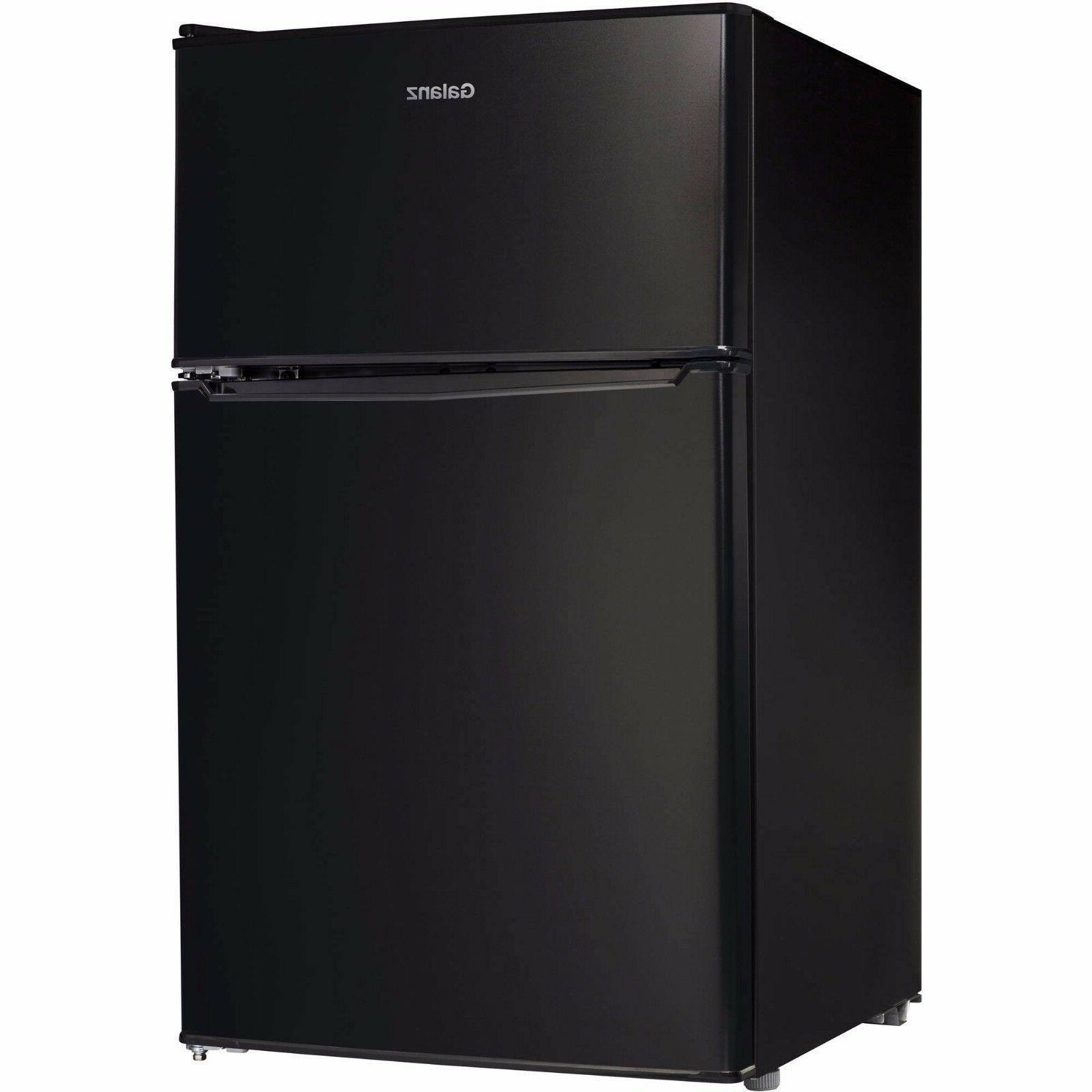 3 1 cu ft compact refrigerator double
