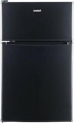 New 3.1 Cu ft Two Door Mini Fridge With Freezer Estar GL31S5