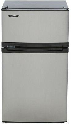 Danby 3.1 cu. ft. Mini Refrigerator in Stainless Look